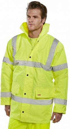 Beeswift Hi-Viz Constructor Jacket - Yellow