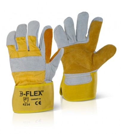 Beeswift Rigger Glove Yellow