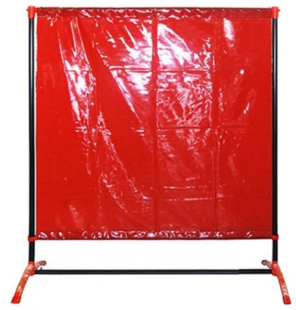 Defender Welding Screens WELDING CURTAIN WITH FRAME (DEFENDER 200 4.8FT X 6.3FT)