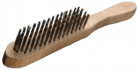 SWP 4 Row M/S Wire Brush