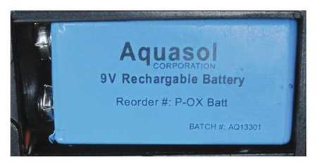 Aquasol PRO OX®-100 9V NiMH Battery