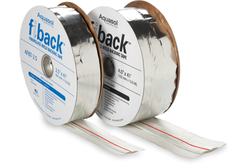 Aquasol Fiback® Weld Backing Tape 200 AMP with Fiberglass Center