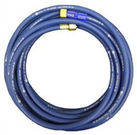 "Weldspares 20M X 6mm Blue Hose 2X3/8"" Fittings 040706B"