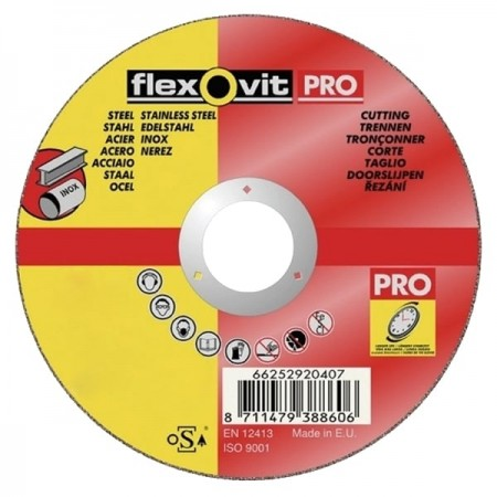 125X6.5mm Flexovit Pro Grinding Discs - PKT 5