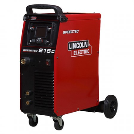 Lincoln Electric Speedtec 215C Multi Process Ready to Weld Package (110V/240V)