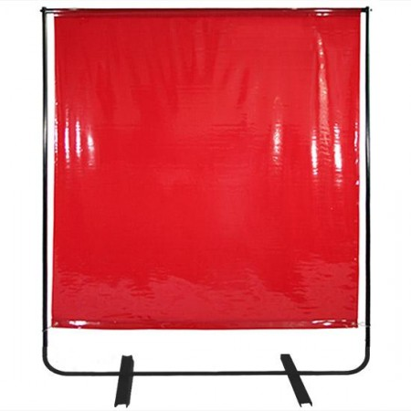 WELDING CURTAIN WITH FRAME