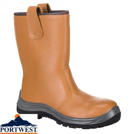 Portwest Rigger Boot Lined Rbls