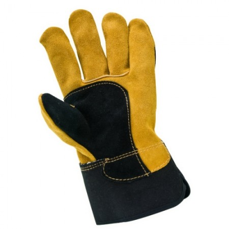 Swp Black/Gold Quality Riggers Glove (