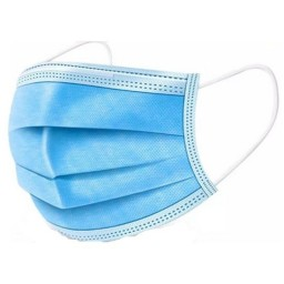 # 3-Ply Blue Surgical Masks PKT 50