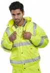 Beeswift Hi-Viz Bomber Jacket - Yellow
