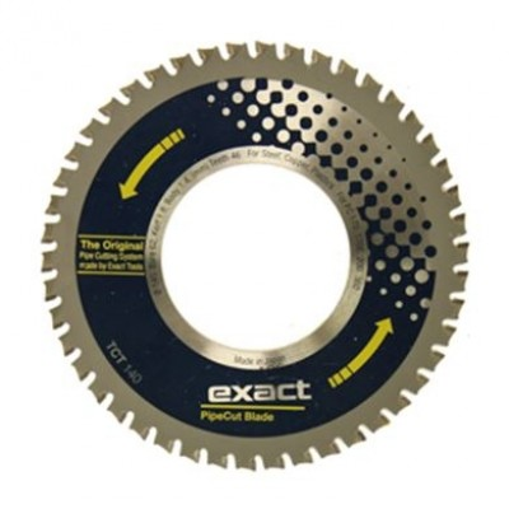 Exact TCT 140 Blade 140mm - (Steel, Copper, Plastic)