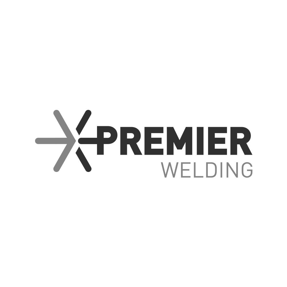 Premier Welding Knee Pads Black H/D C/W Velcro Straps 1584
