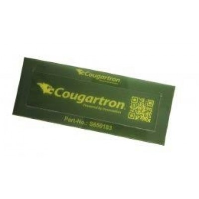 Cougartron Logo Stencil with a Plastic Frame