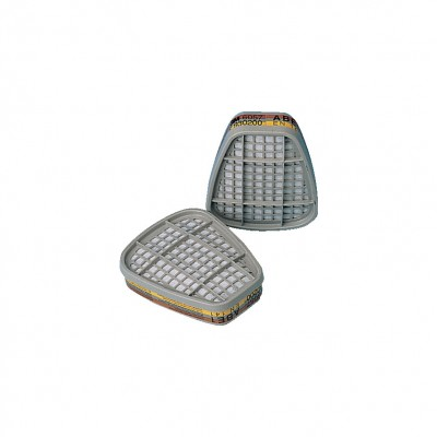 A2 Gas + Vapour Filter For Half Mask 3M 6055