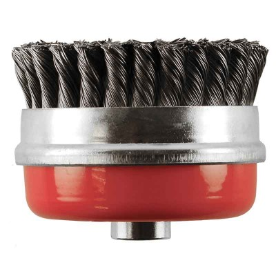 Abracs Twist Knot Cup Wire Brush - Pack of 5
