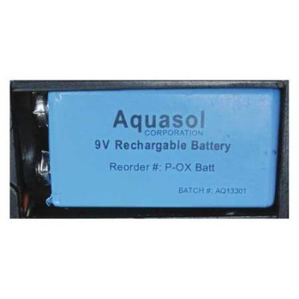 Aquasol PRO OX®-100 9V NiMH Battery